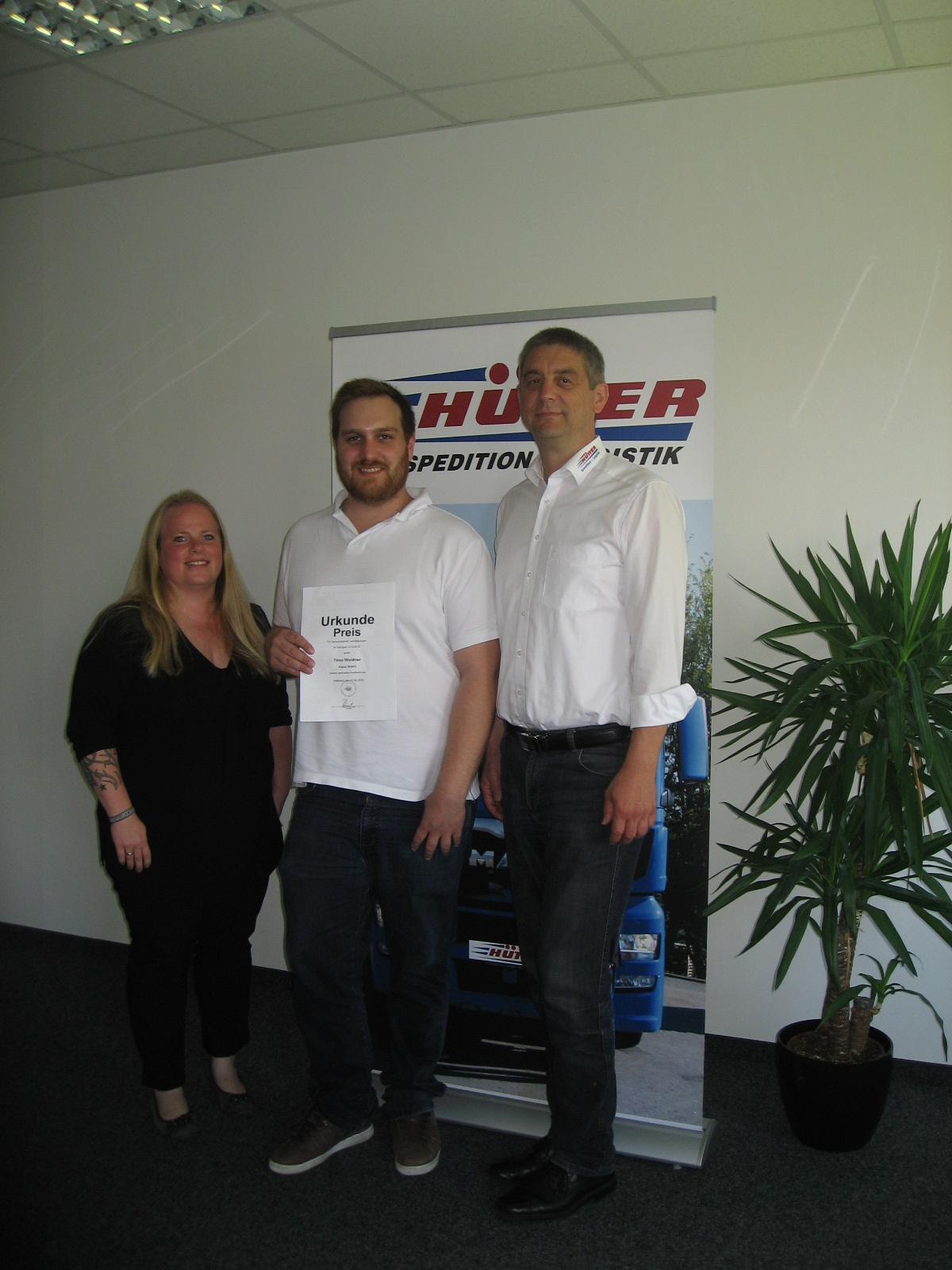 Miriam Sautter, Timo Weidner und Martin Hütter